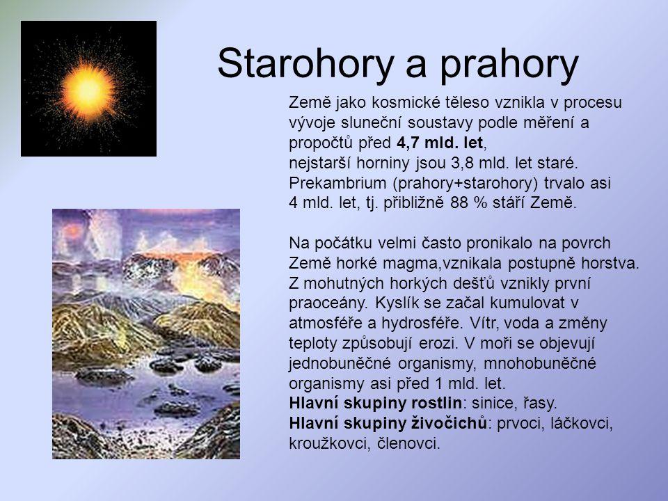 Starohory a prahory