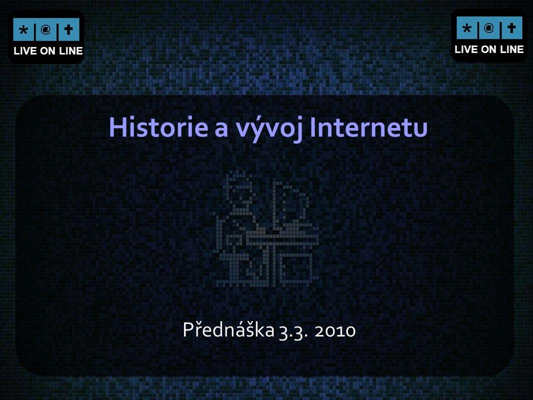 Historie a vývoj Internetu