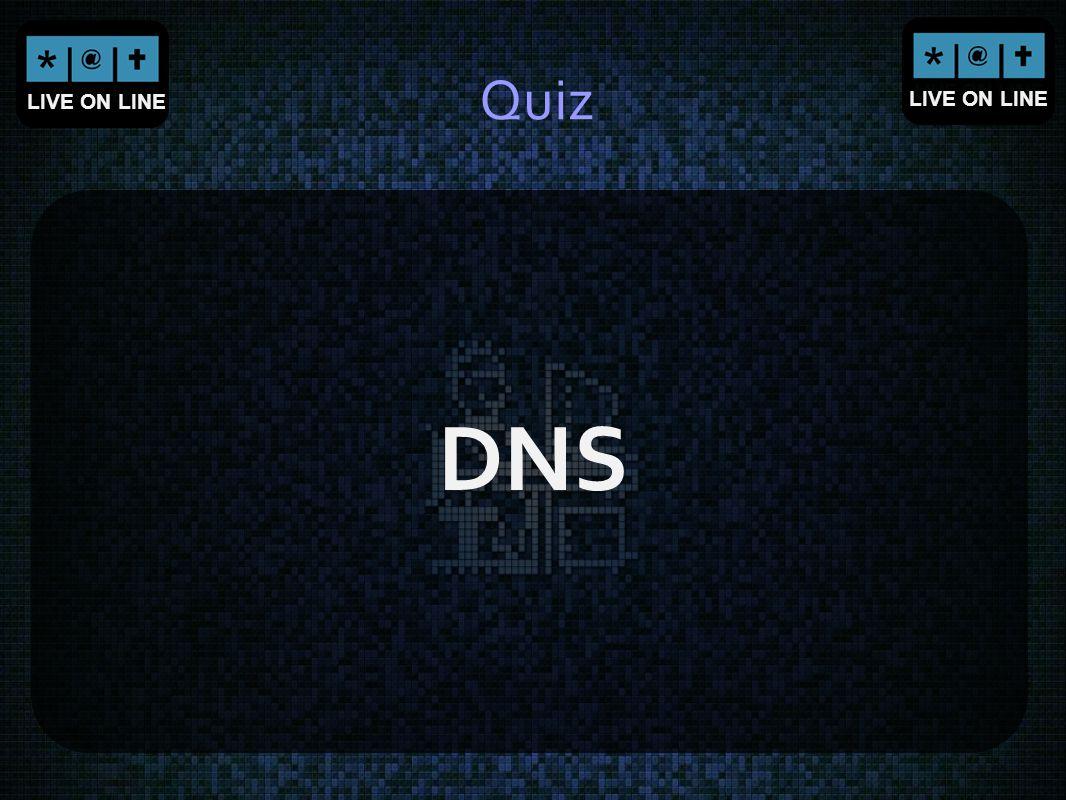 Quiz DNS