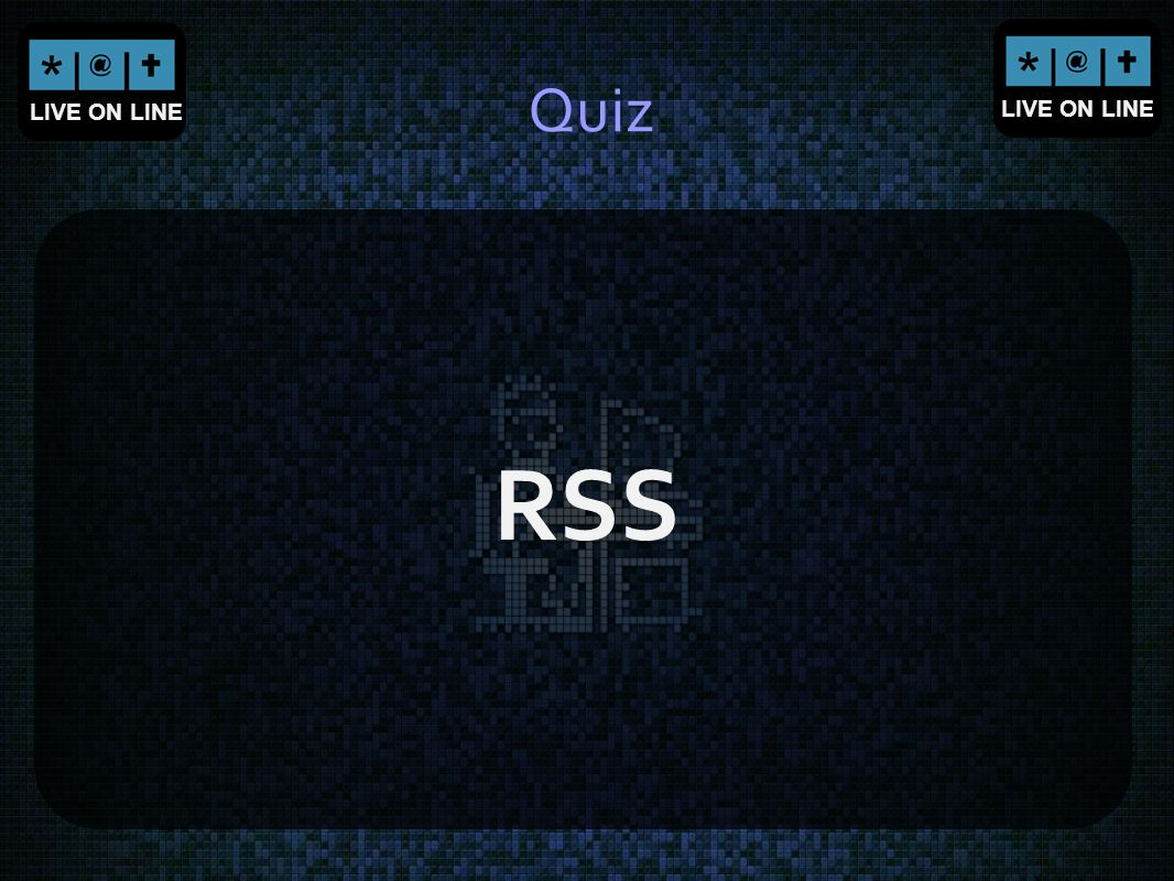 Quiz RSS