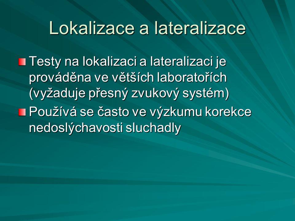 Lokalizace a lateralizace