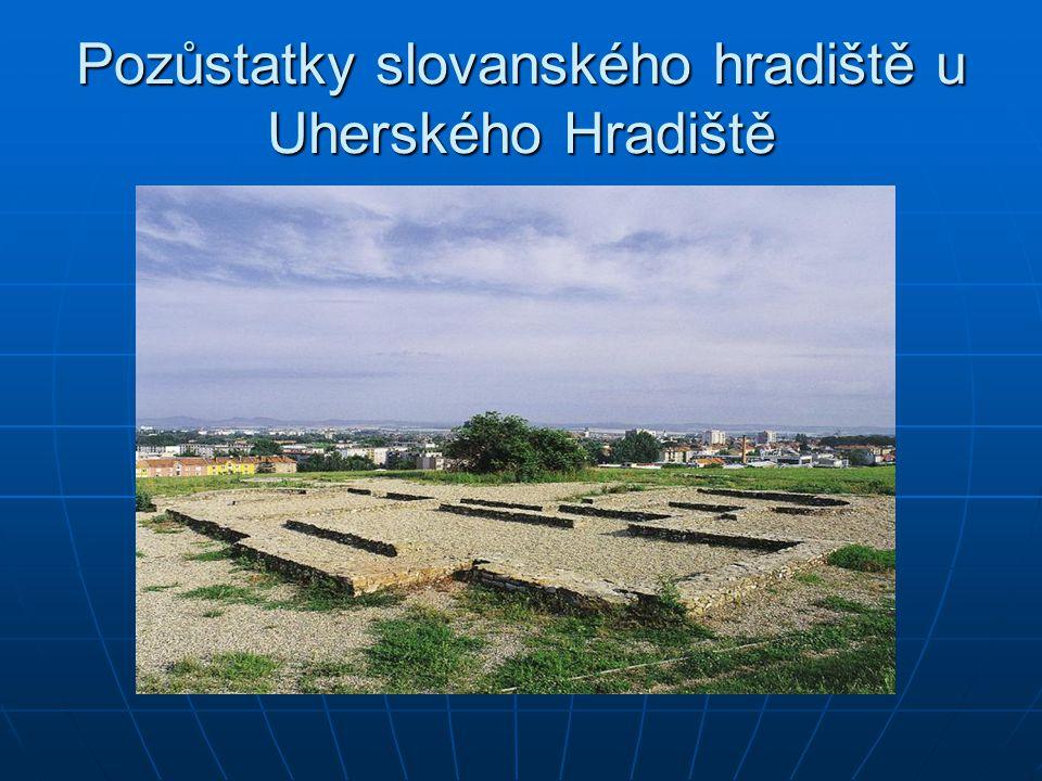 Pozůstatky slovanského hradiště u Uherského Hradiště