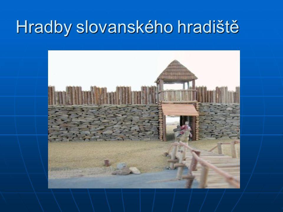 Hradby slovanského hradiště