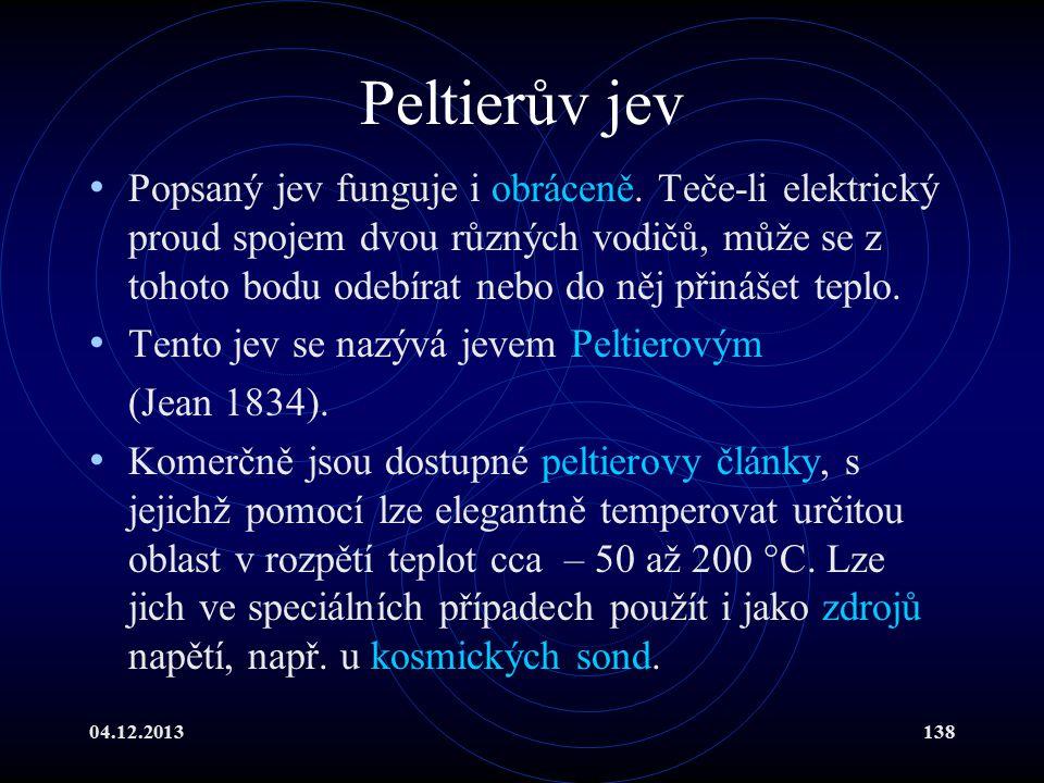 Peltierův jev