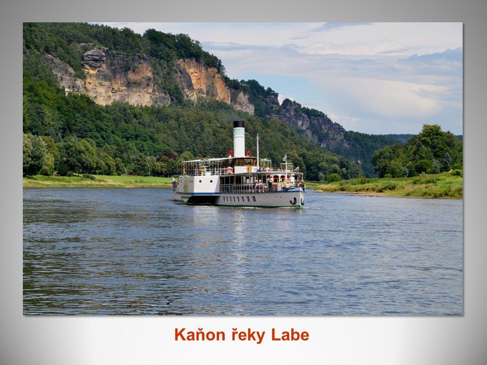 Kaňon řeky Labe