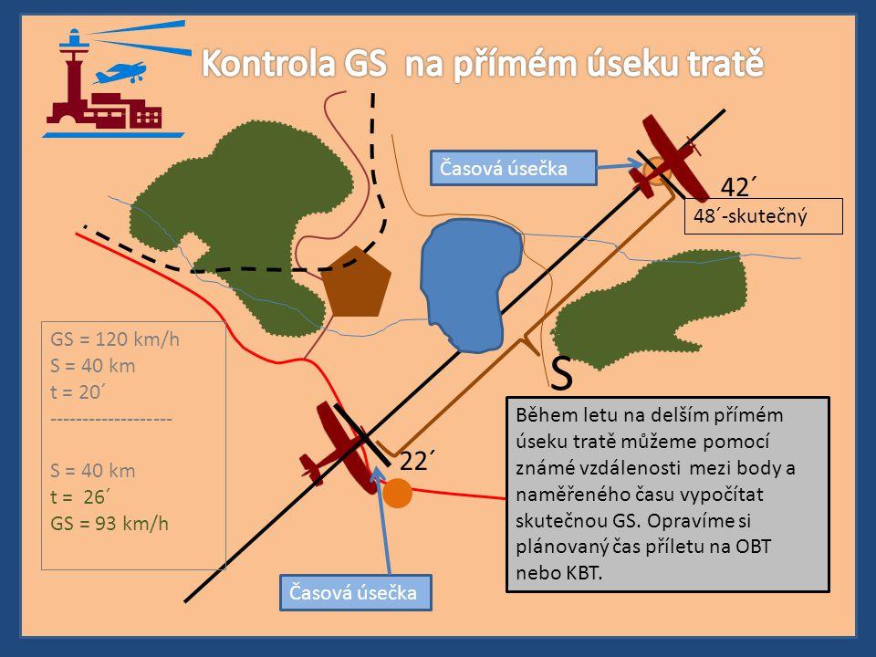 Kontrola GS na přímém úseku tratě