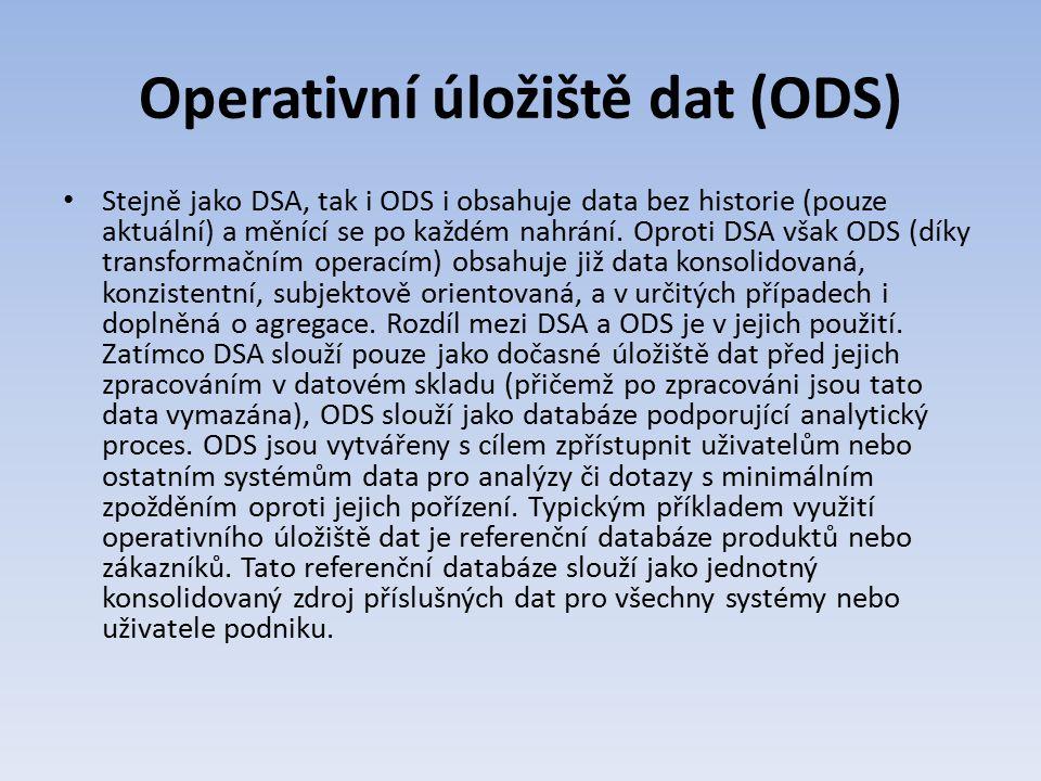 Operativní úložiště dat (ODS)