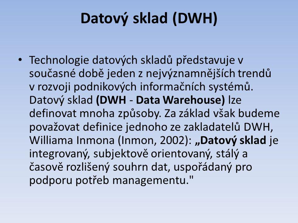 Datový sklad (DWH)