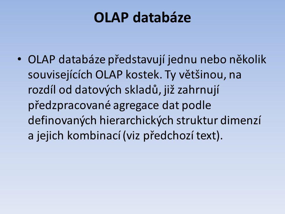 OLAP databáze