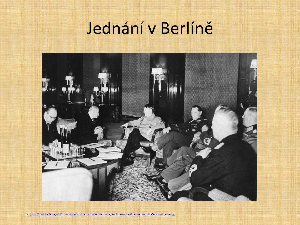 Jednání v Berlíně
