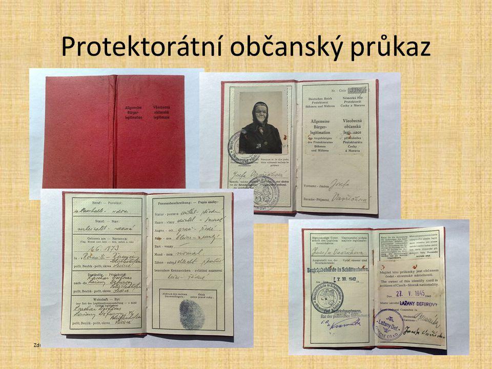 Protektorátní občanský průkaz
