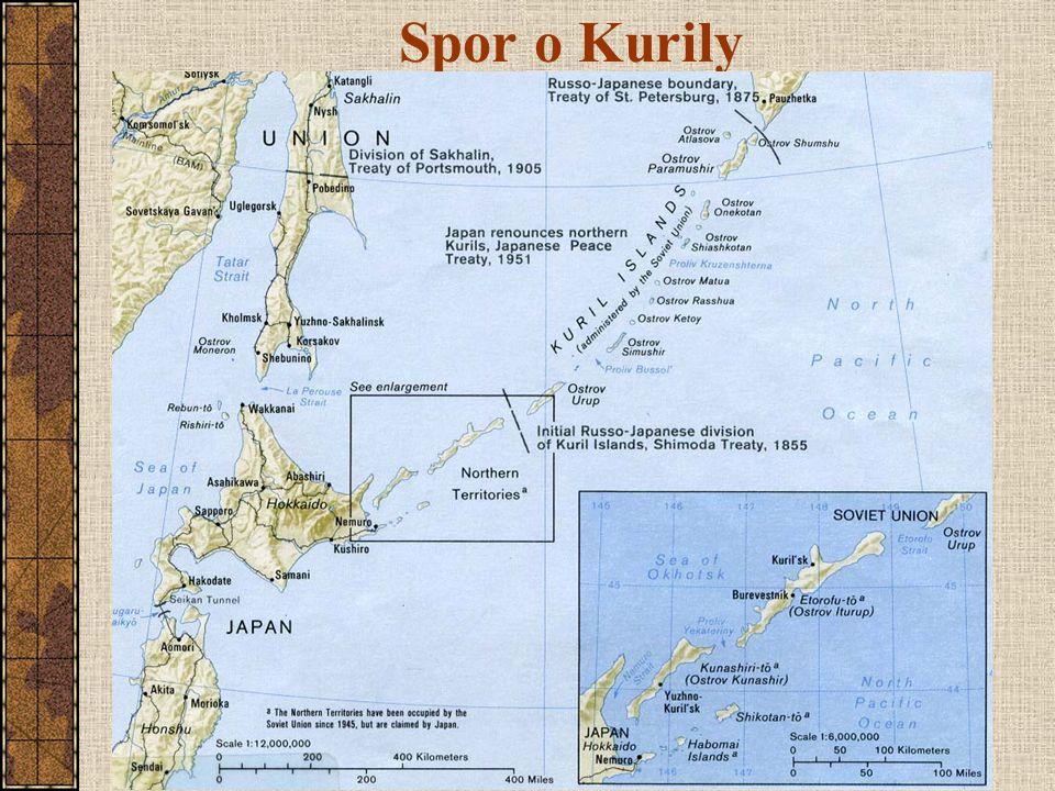 Spor o Kurily