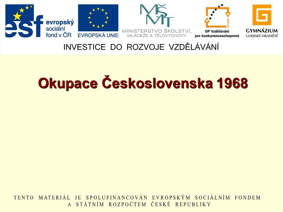 Okupace Československa 1968