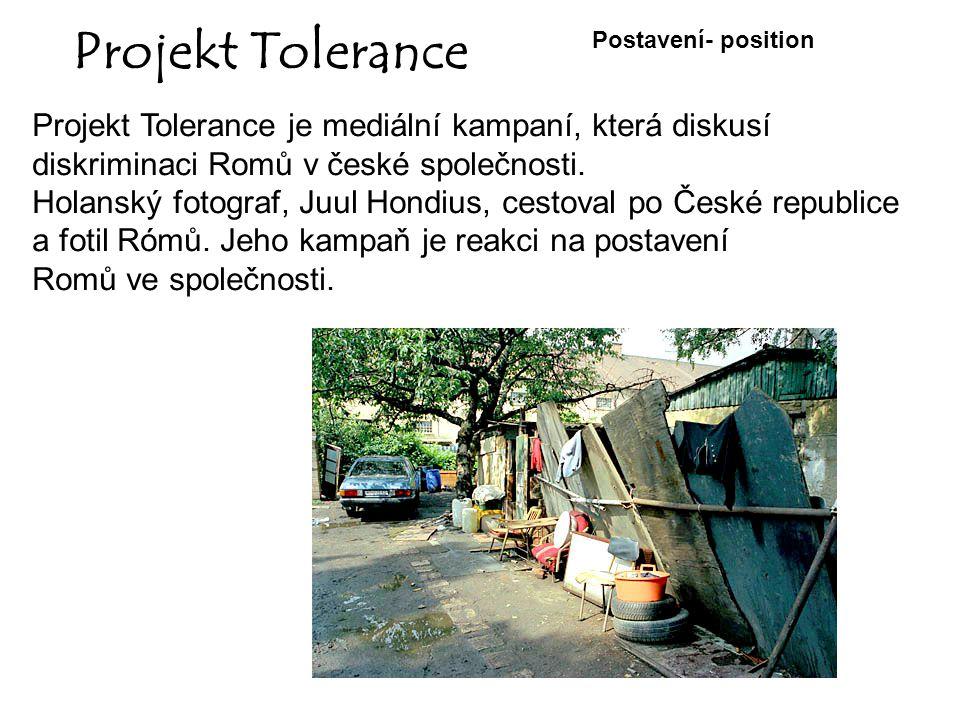 Projekt Tolerance Projekt Tolerance je mediální kampaní, která diskusí