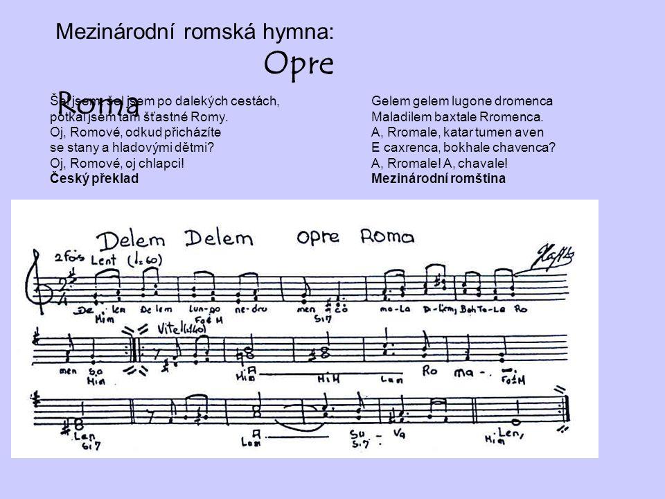 Mezinárodní romská hymna: Opre Roma