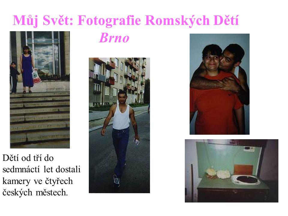 Můj Svět: Fotografie Romských Dětí Brno
