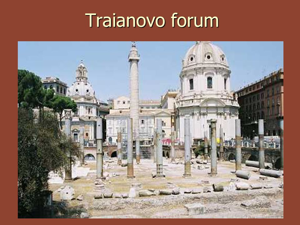 Traianovo forum