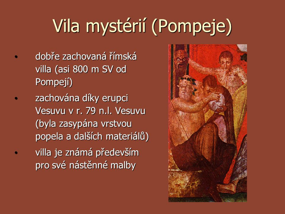Vila mystérií (Pompeje)