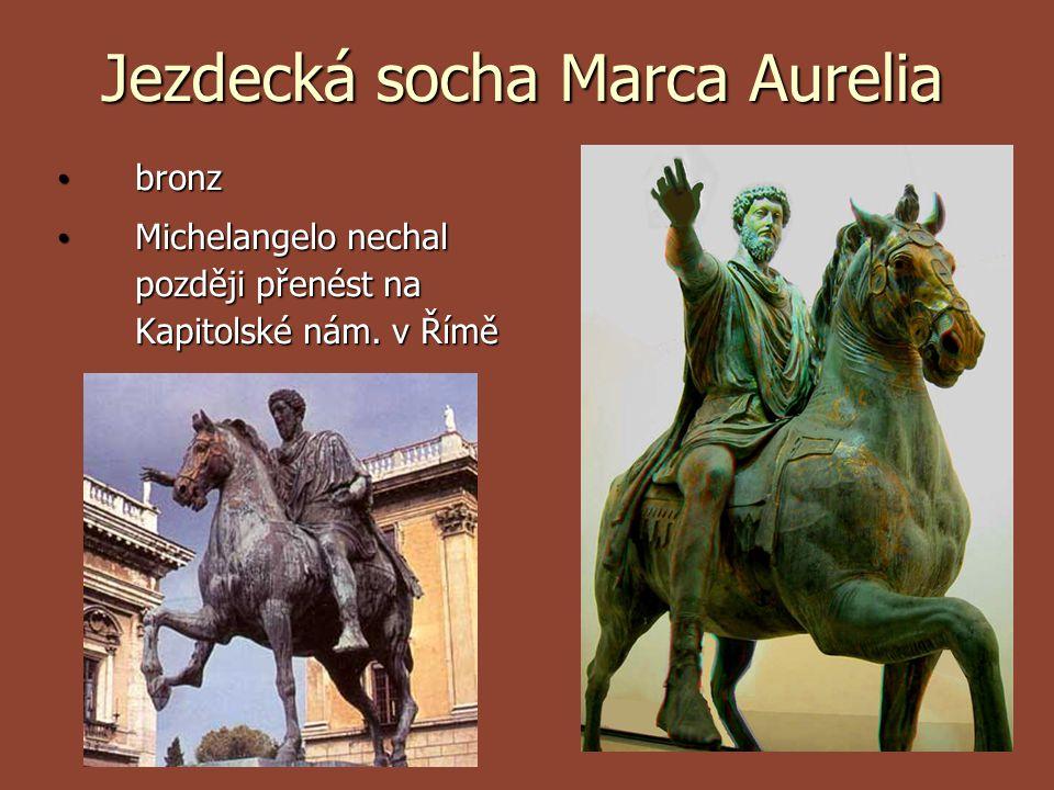Jezdecká socha Marca Aurelia