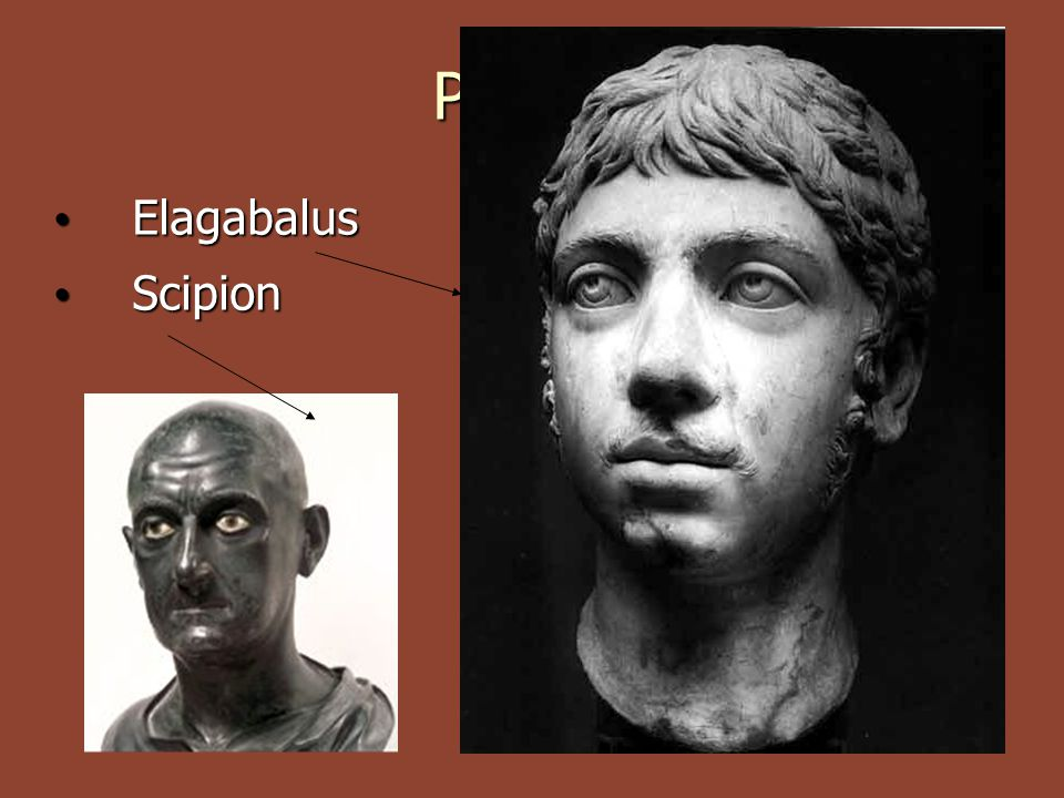 Portrét Elagabalus Scipion