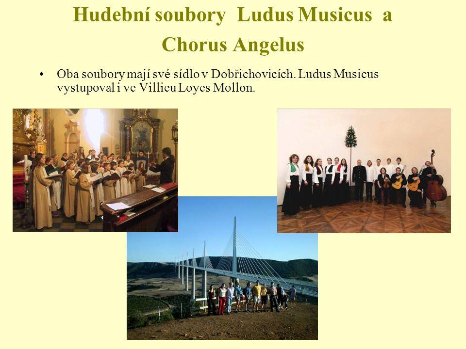 Hudební soubory Ludus Musicus a Chorus Angelus
