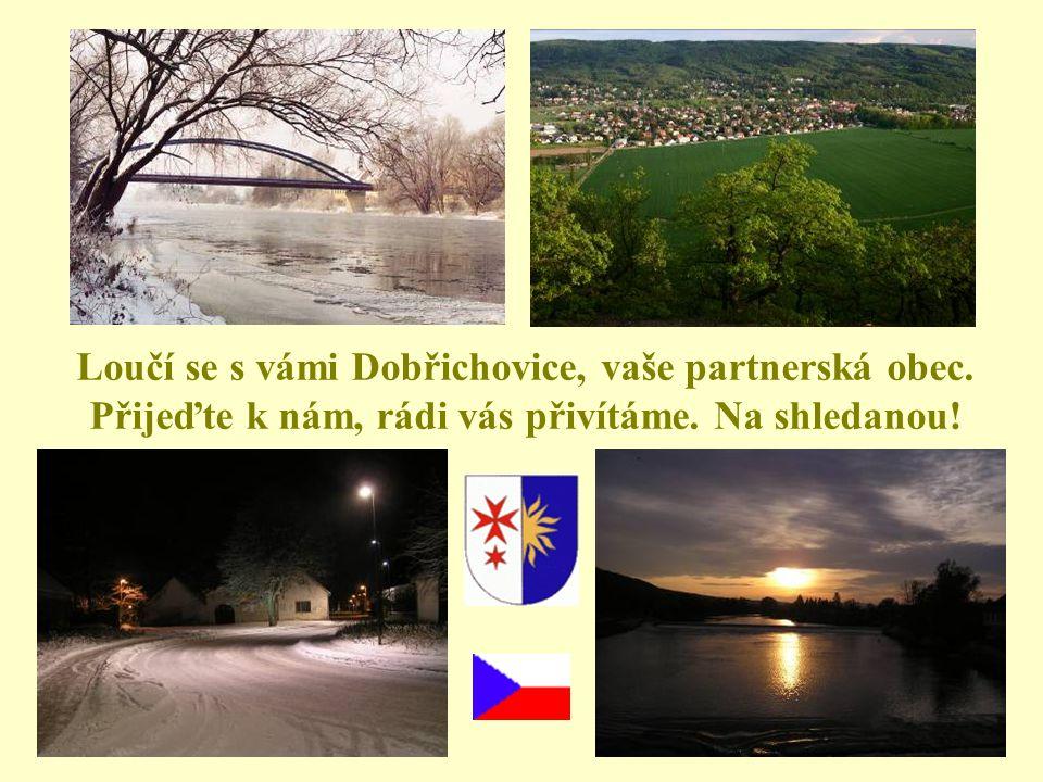 Loučí se s vámi Dobřichovice, vaše partnerská obec