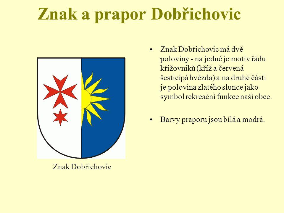 Znak a prapor Dobřichovic