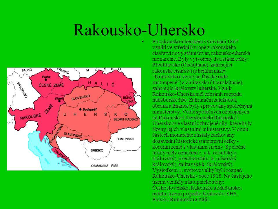 Rakousko-Uhersko