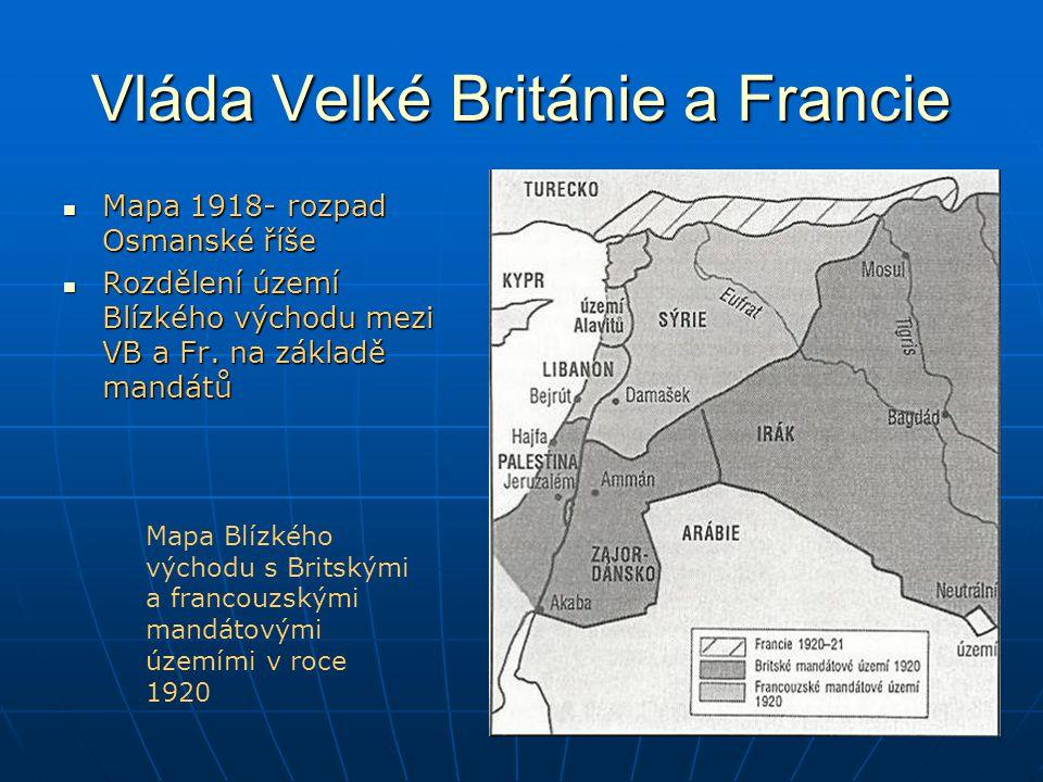 Vláda Velké Británie a Francie