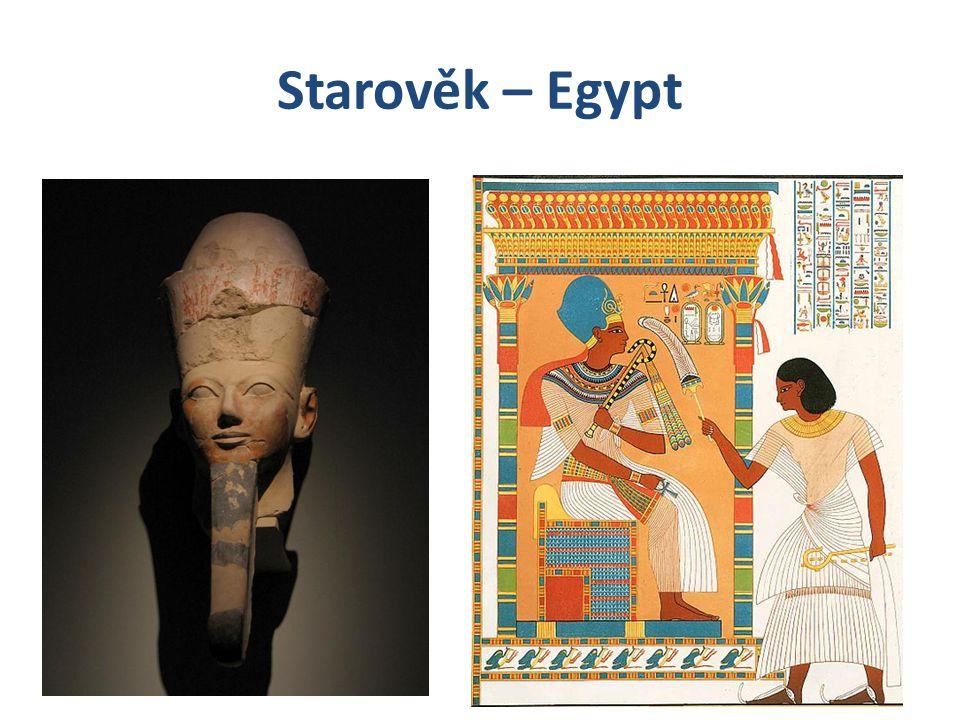 Starověk – Egypt