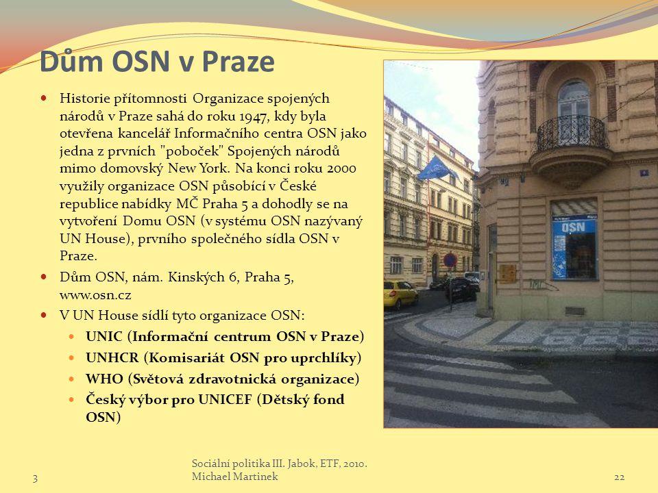 Dům OSN v Praze