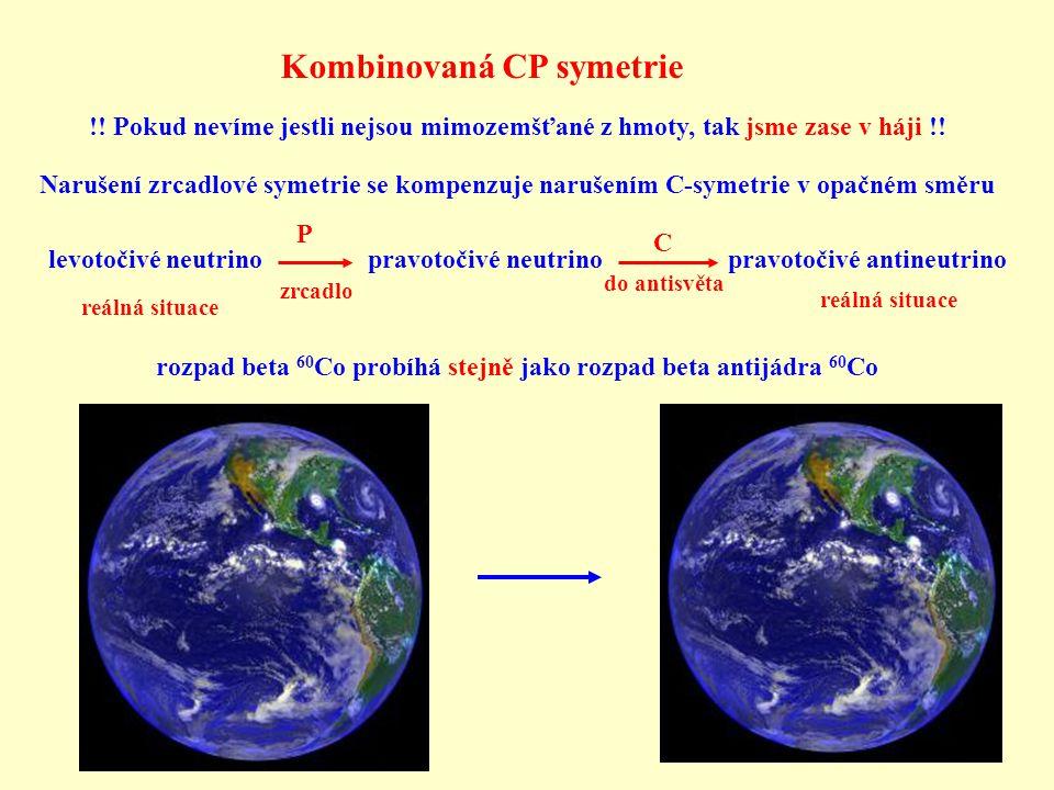 Kombinovaná CP symetrie