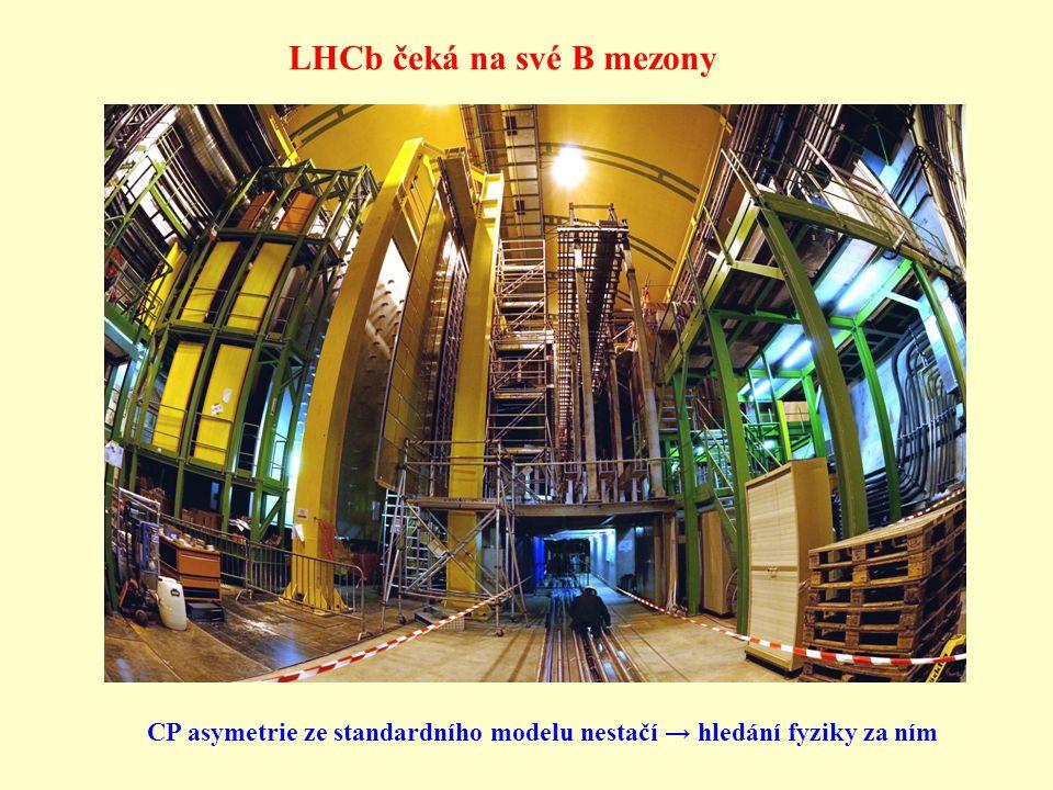 LHCb čeká na své B mezony