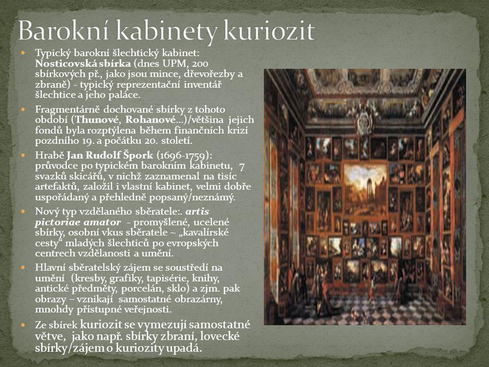 Barokní kabinety kuriozit