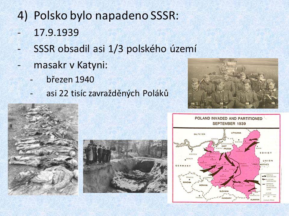 Polsko bylo napadeno SSSR: