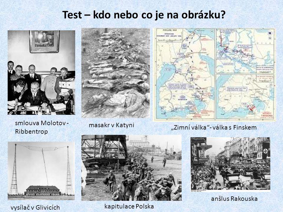 Test – kdo nebo co je na obrázku