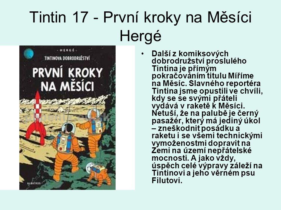 Tintin 17 - První kroky na Měsíci Hergé