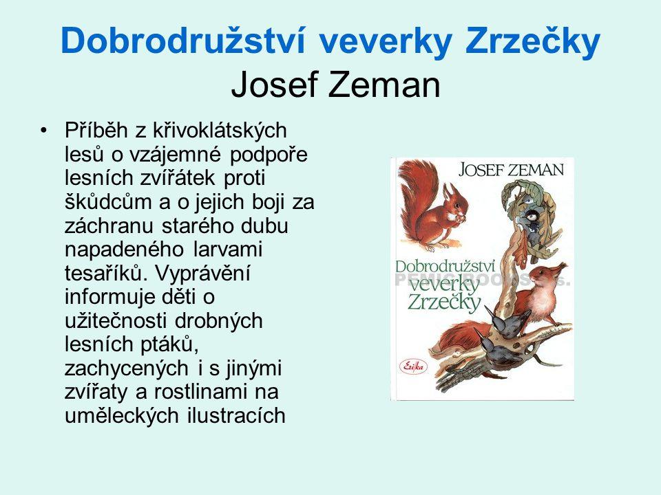 Dobrodružství veverky Zrzečky Josef Zeman