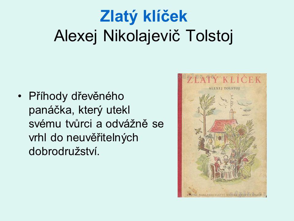 Zlatý klíček Alexej Nikolajevič Tolstoj