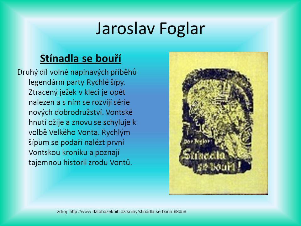 Jaroslav Foglar Stínadla se bouří
