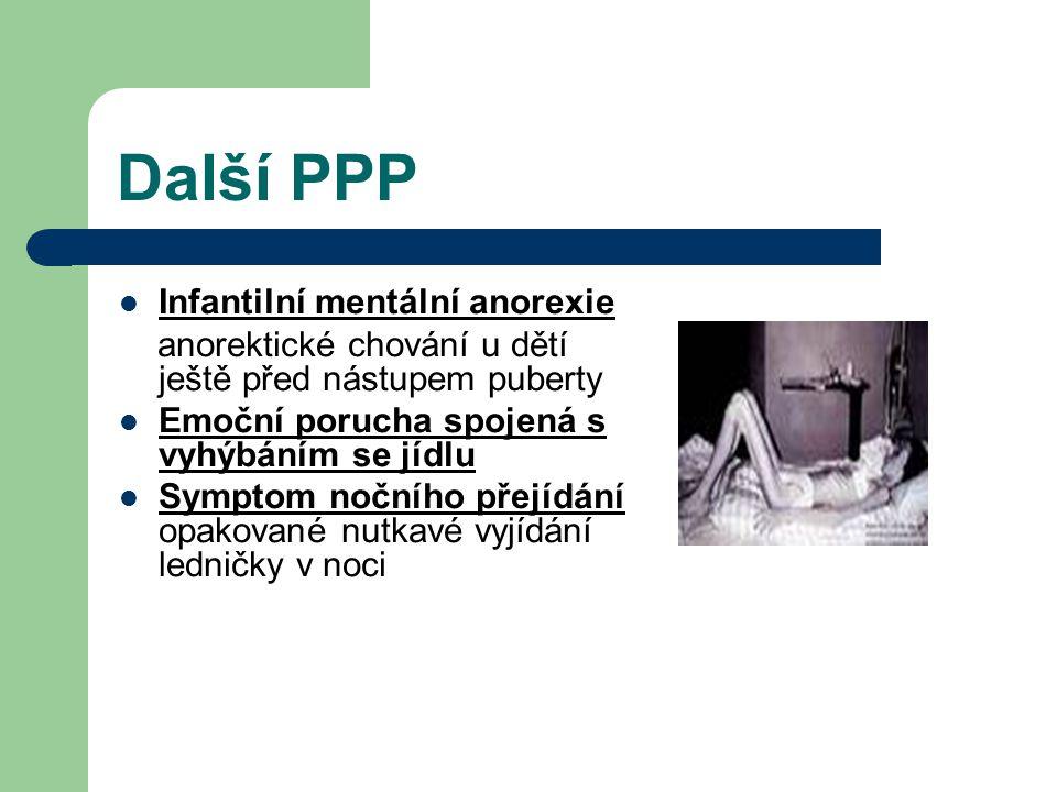 Další PPP Infantilní mentální anorexie