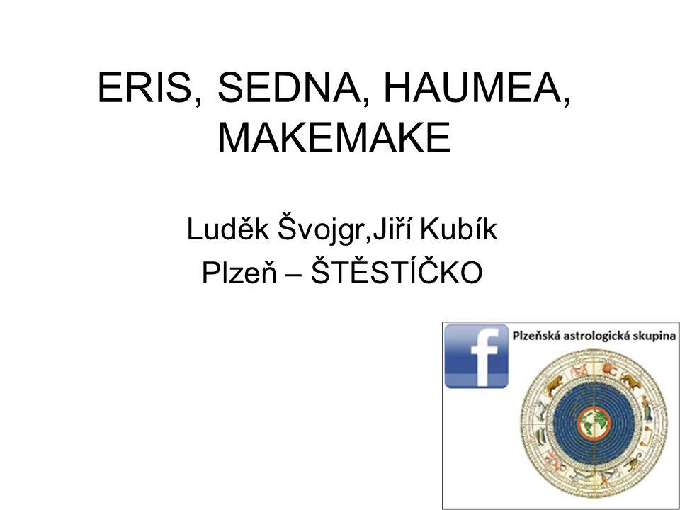 ERIS, SEDNA, HAUMEA, MAKEMAKE