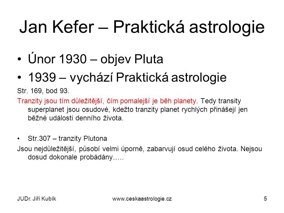 Jan Kefer – Praktická astrologie