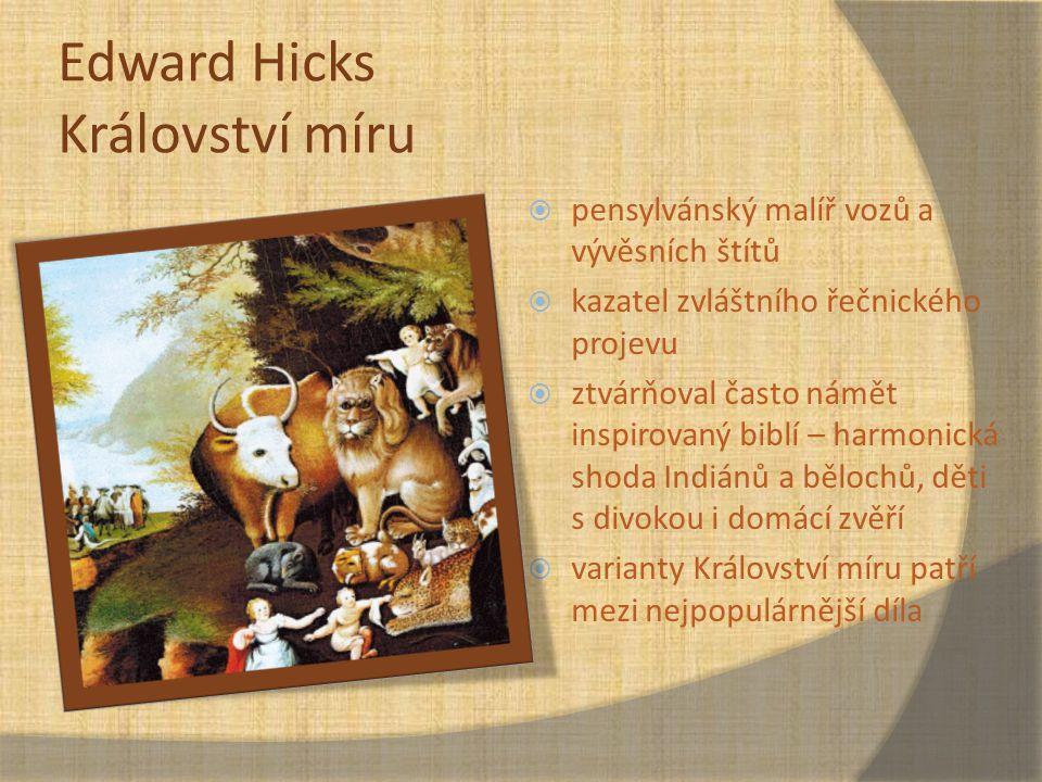 Edward Hicks Království míru