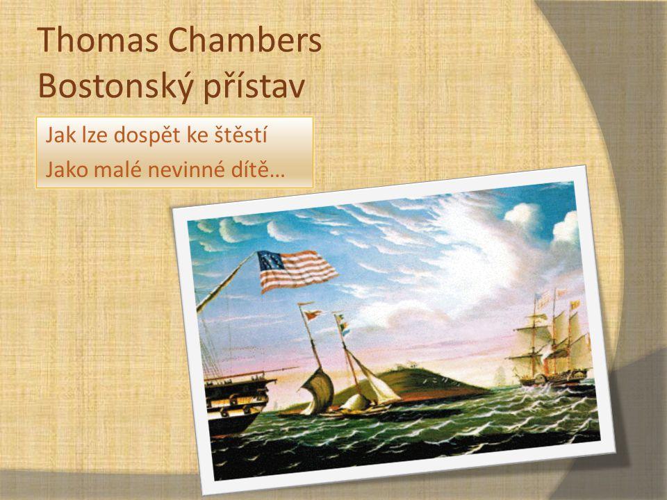 Thomas Chambers Bostonský přístav