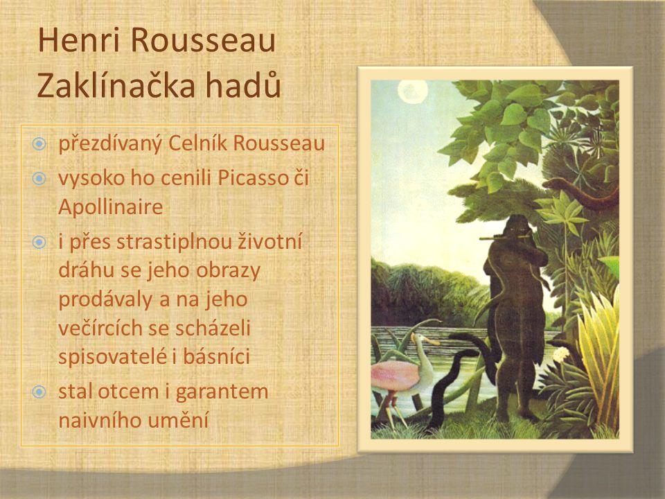 Henri Rousseau Zaklínačka hadů