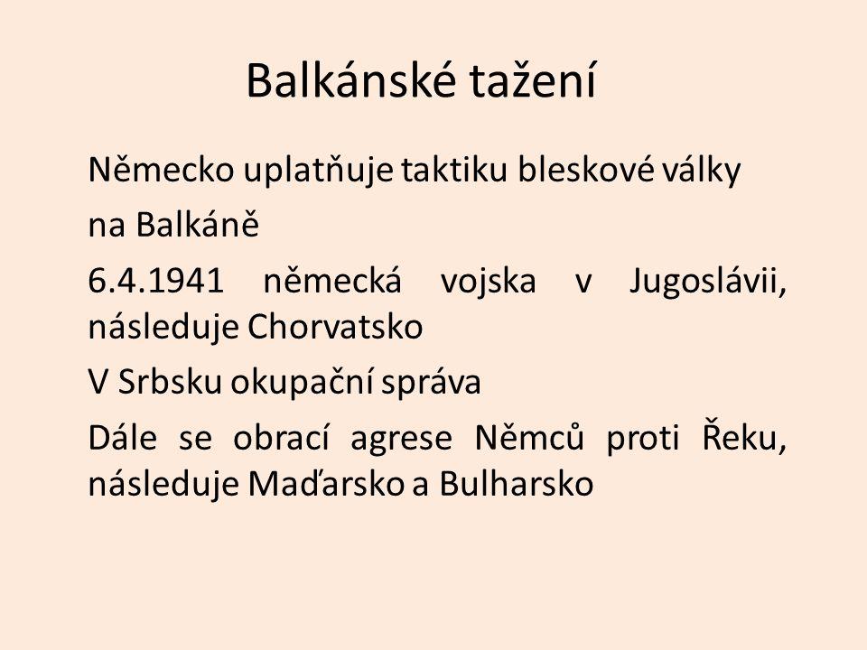 Balkánské tažení