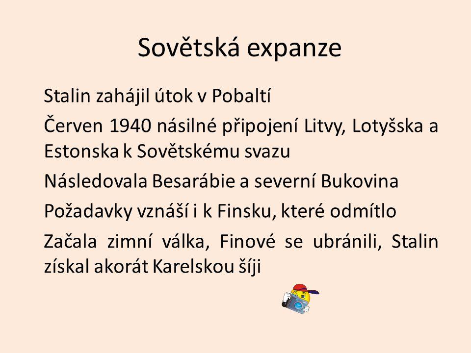 Sovětská expanze
