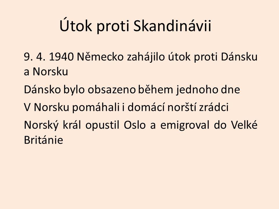 Útok proti Skandinávii