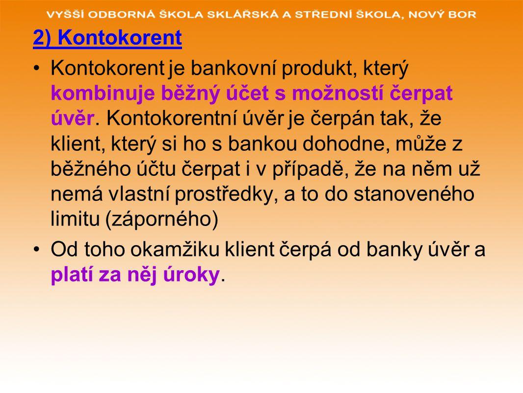 2) Kontokorent
